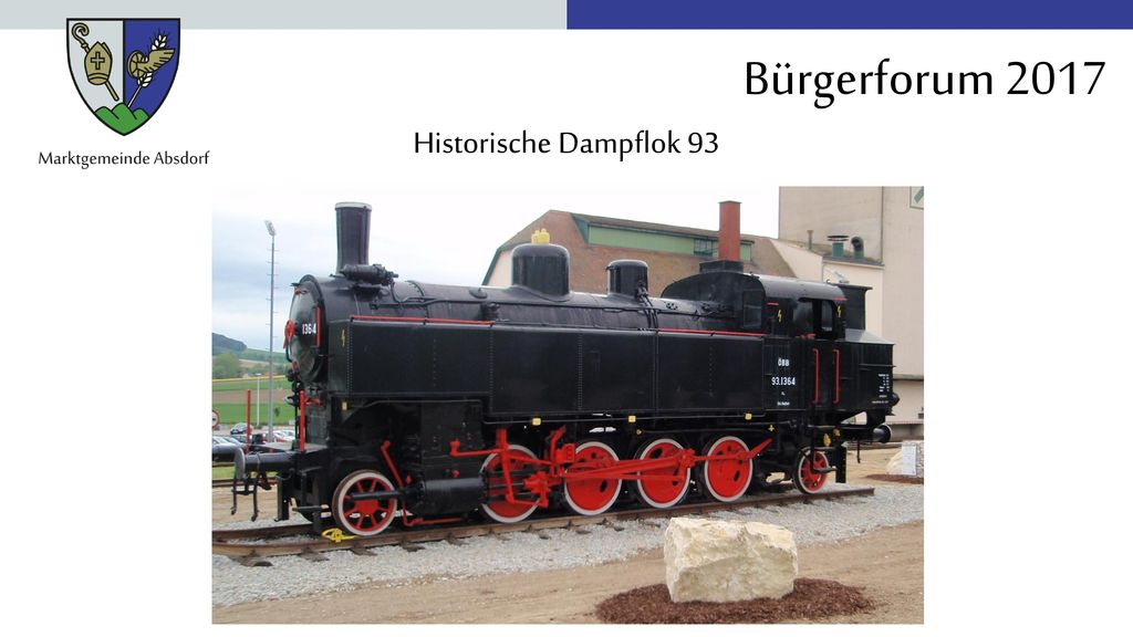 Historische Dampflok 93