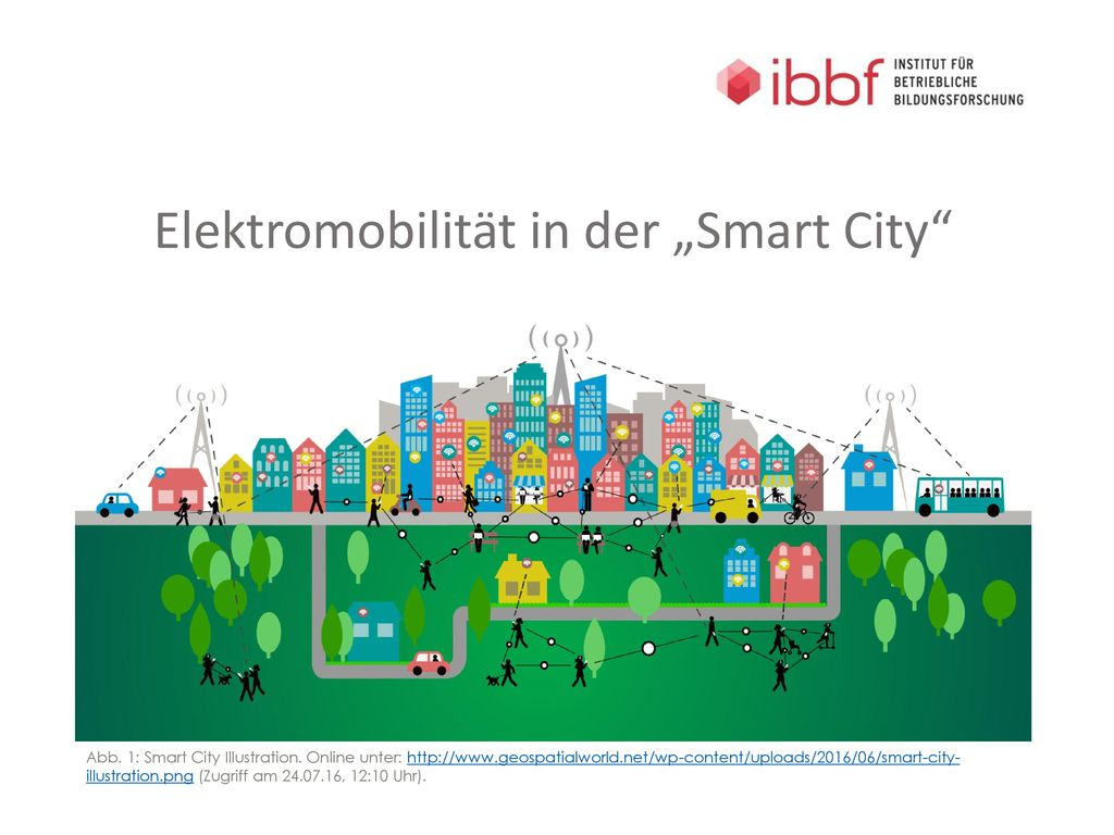 """Elektromobilität in der """"Smart City"""