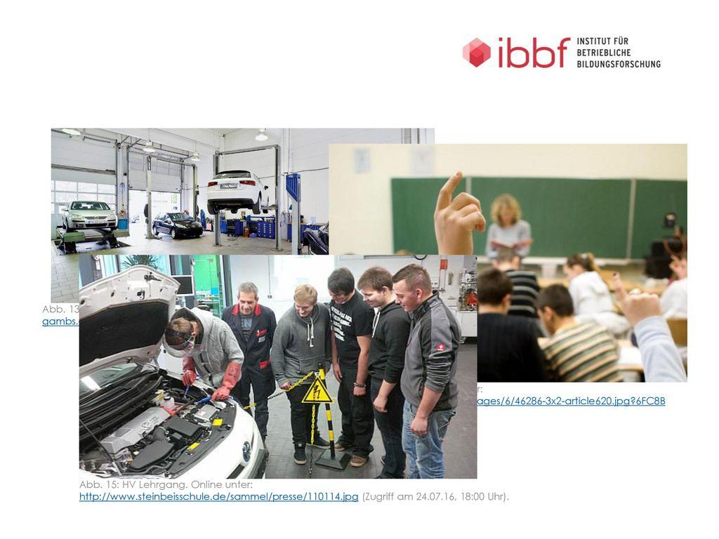 Abb. 13: Kfz-Werkstatt. Online unter: http://fahrzeuglackierung-gambs