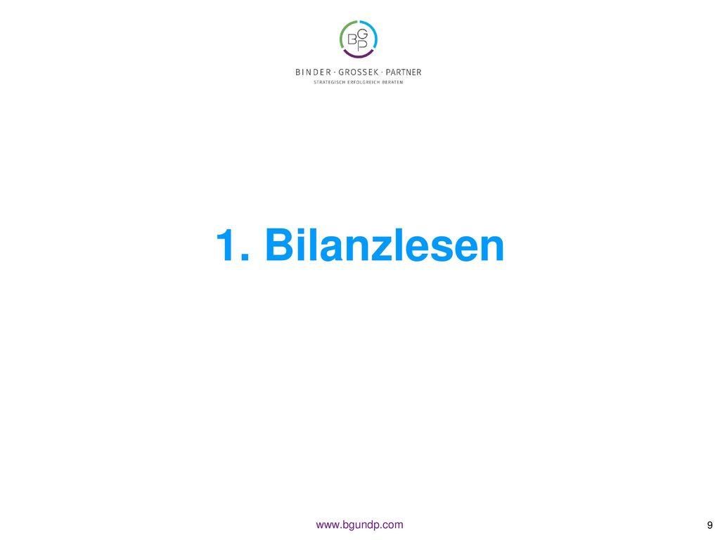 1. Bilanzlesen