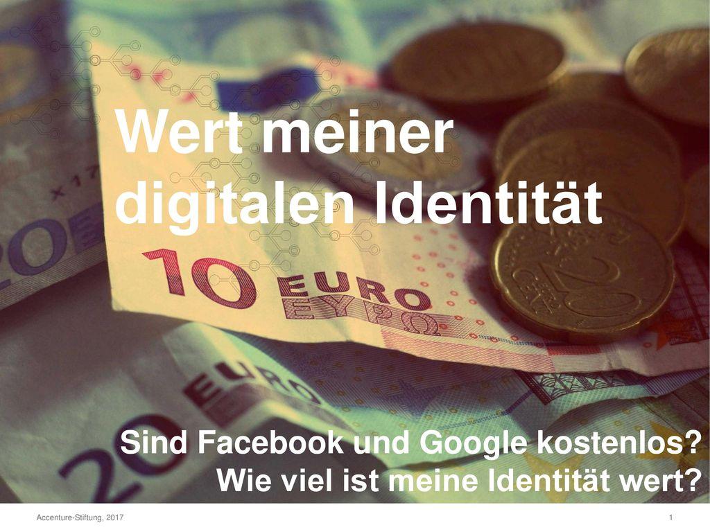 Wert meiner digitalen Identität