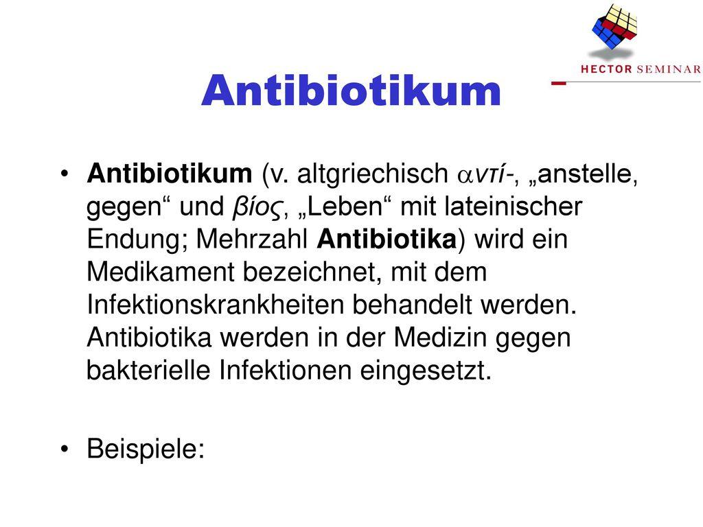 Antibiotikum