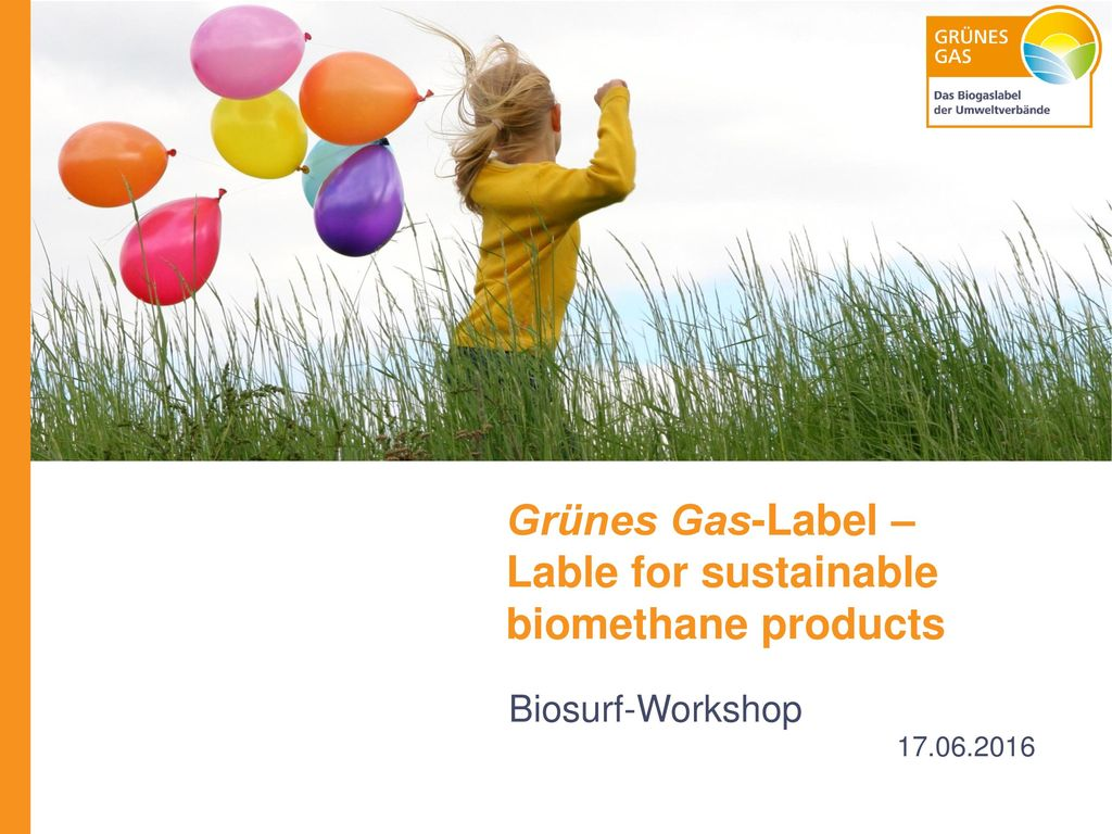 Grünes Gas-Label – Lable for sustainable biomethane products
