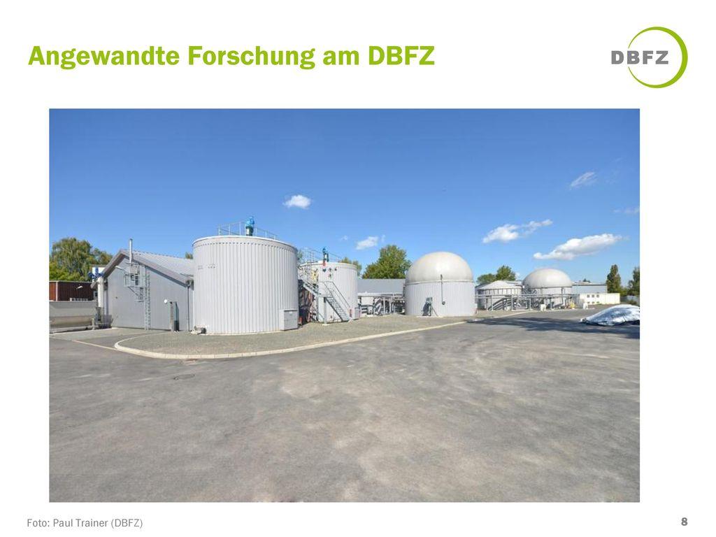 Angewandte Forschung am DBFZ