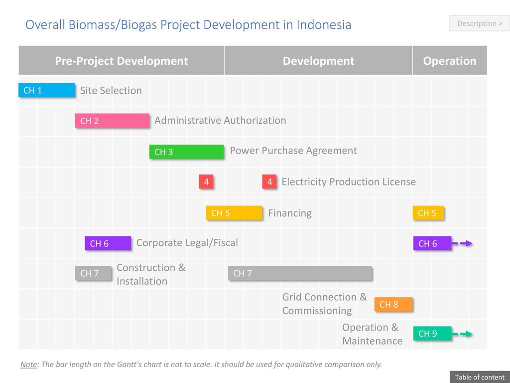Overall Biomass/Biogas Project Development in Indonesia