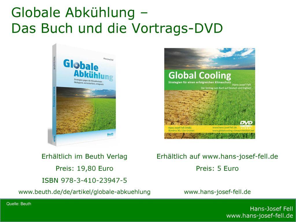 Globale Abkühlung – Das Buch und die Vortrags-DVD