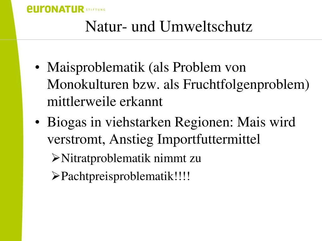 Natur- und Umweltschutz