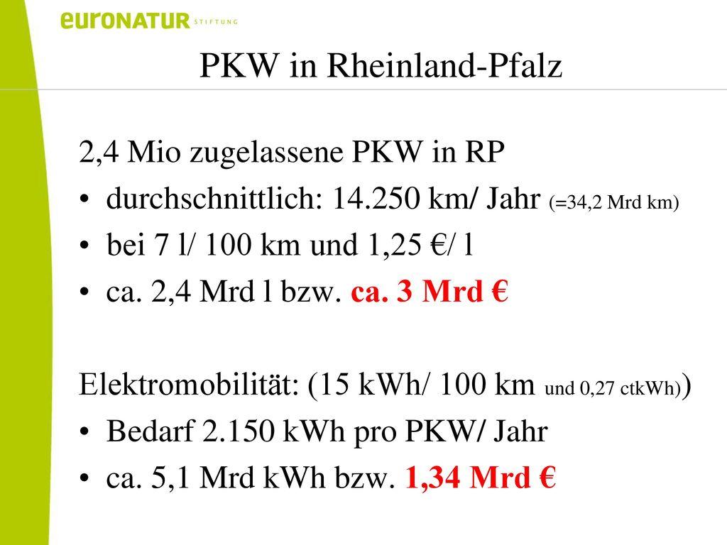 PKW in Rheinland-Pfalz