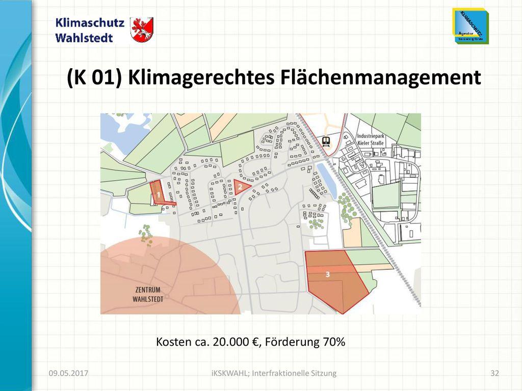 (K 01) Klimagerechtes Flächenmanagement