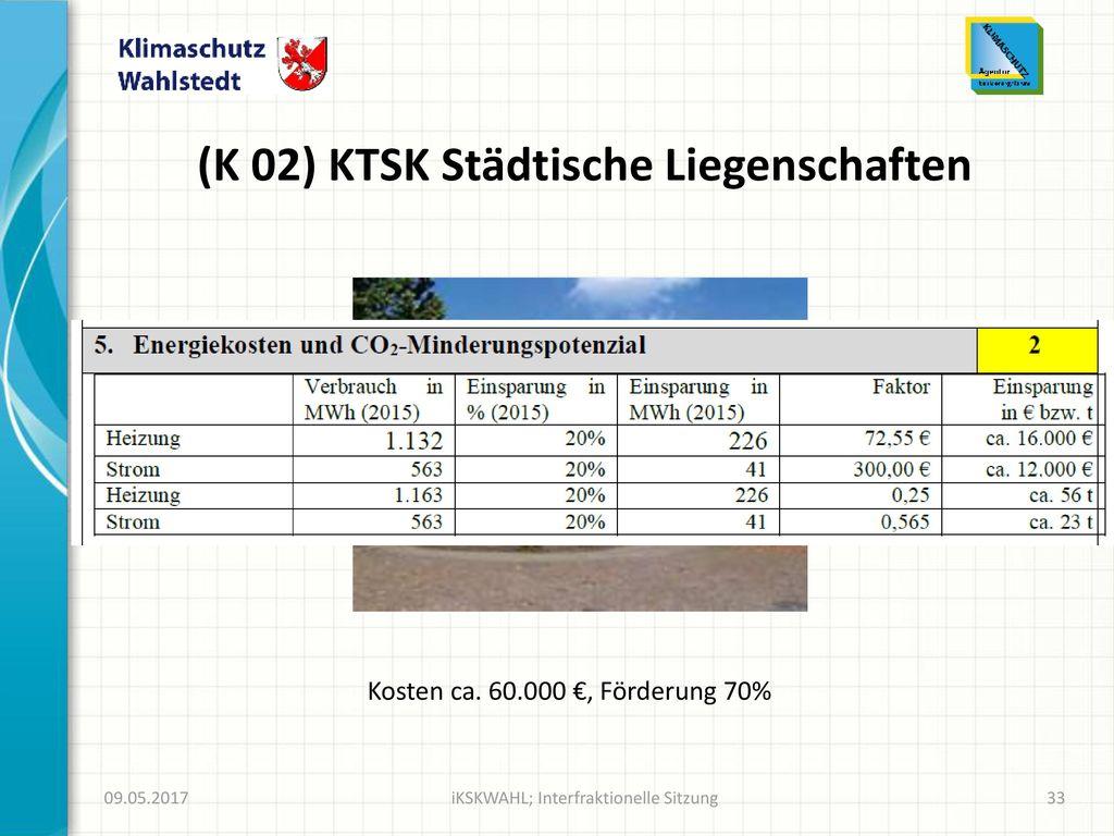 (K 02) KTSK Städtische Liegenschaften