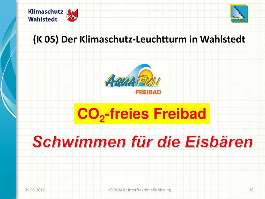 (K 05) Der Klimaschutz-Leuchtturm in Wahlstedt