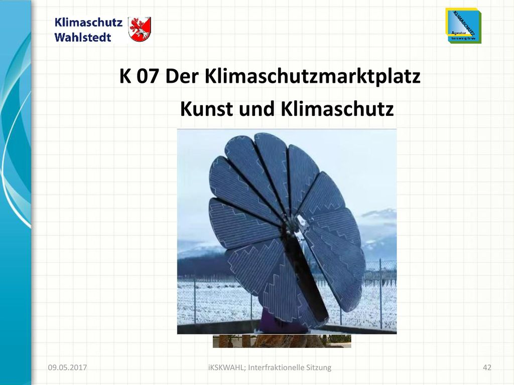 K 07 Der Klimaschutzmarktplatz
