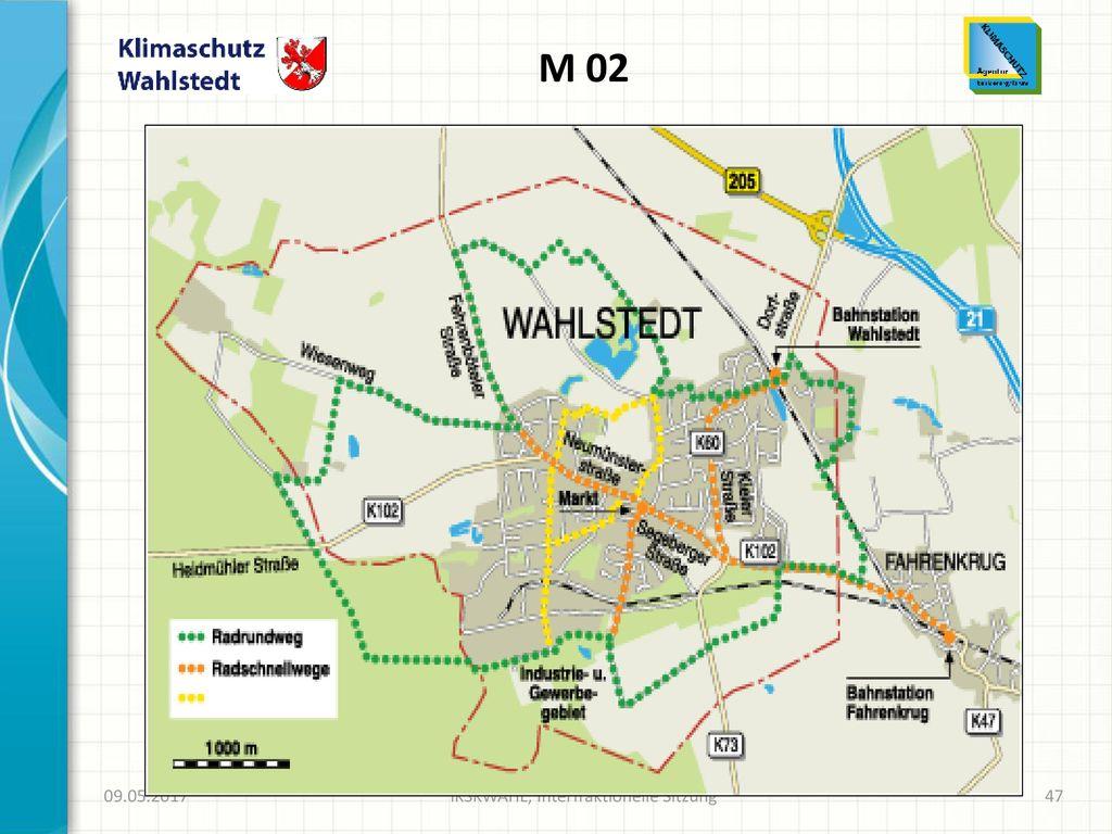 (M 02)Radrundweg und Radschnellwege für Wahlstedter und Gäste