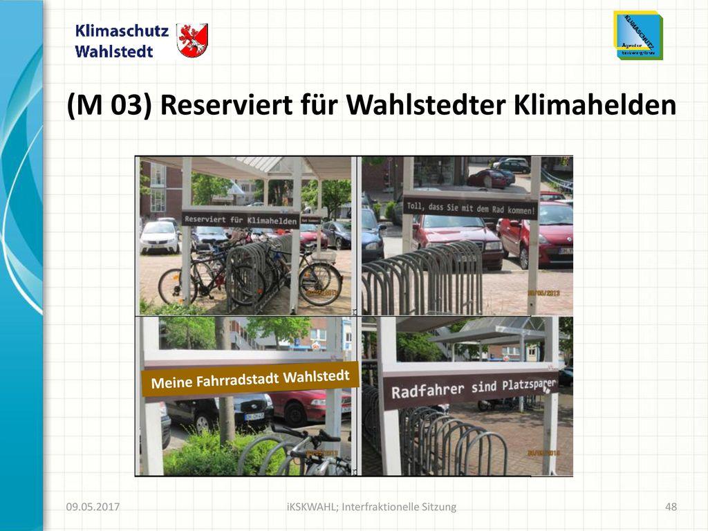 (M 03) Reserviert für Wahlstedter Klimahelden
