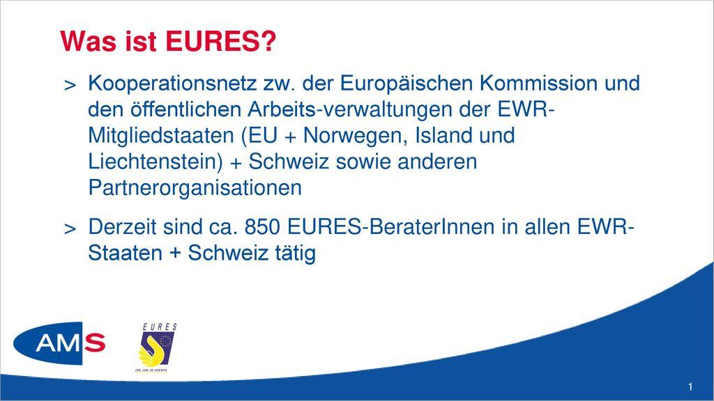 Aufgaben des EURES-Netzwerkes