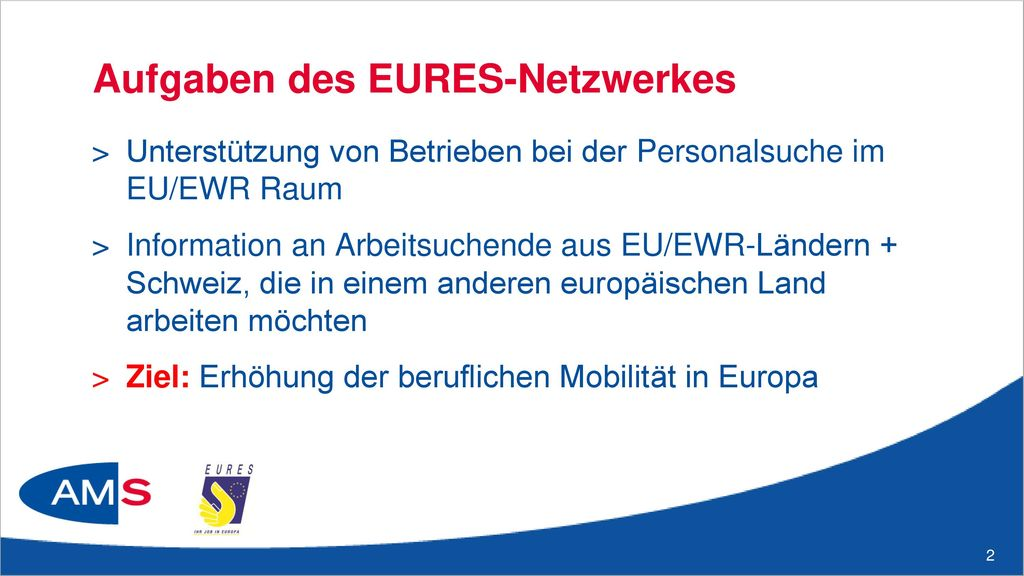 EURES-Homepage