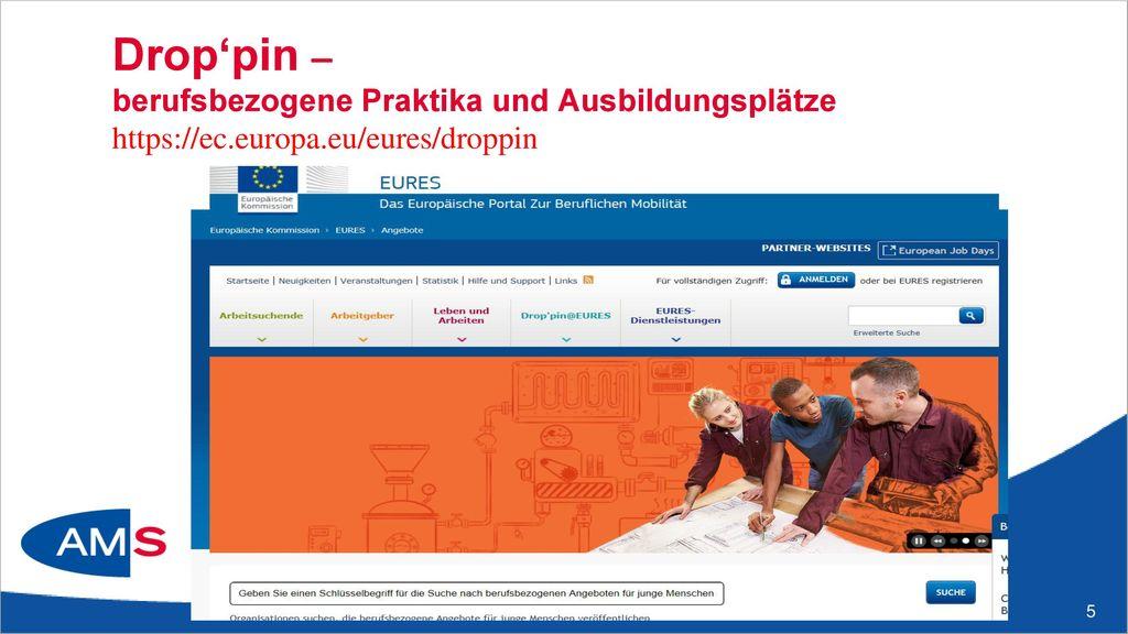 Your first EURES job - Arbeitsuchende https://ec. europa