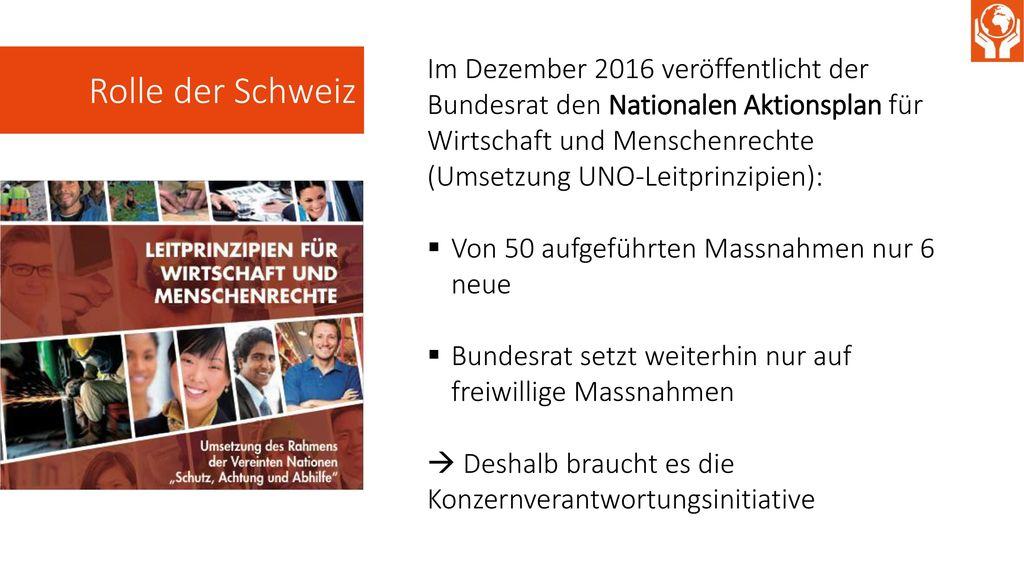 Rolle der Schweiz
