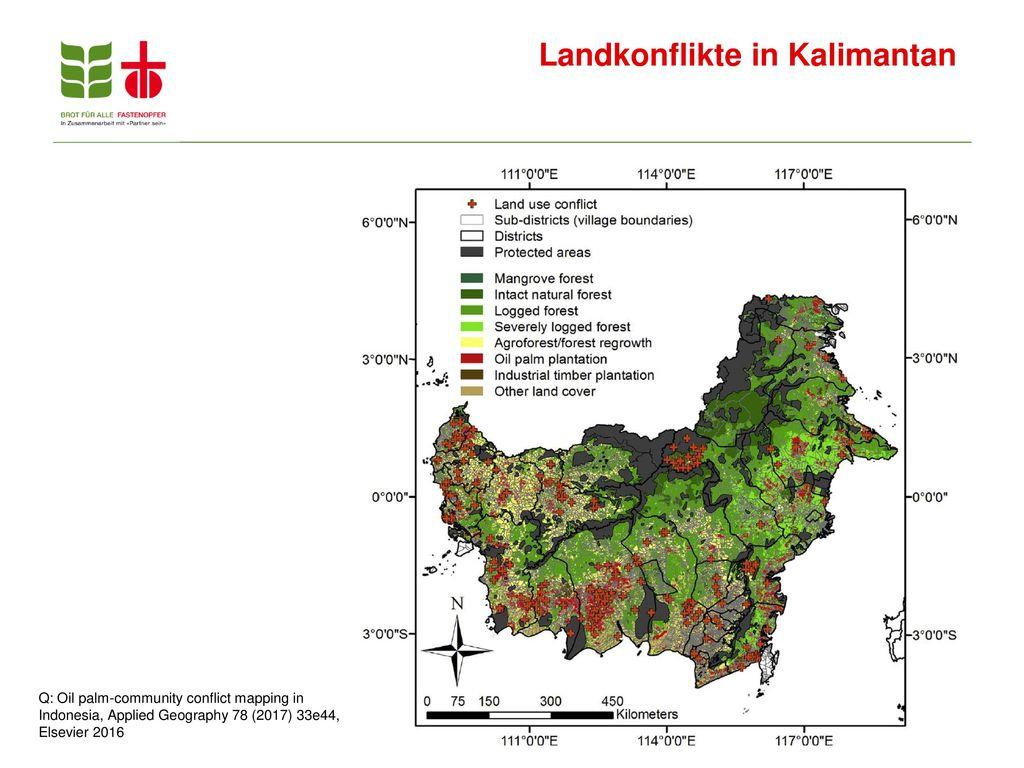 Landkonflikte in Kalimantan