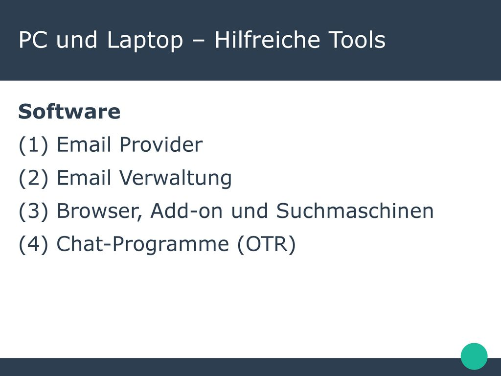 PC und Laptop – Hilfreiche Tools