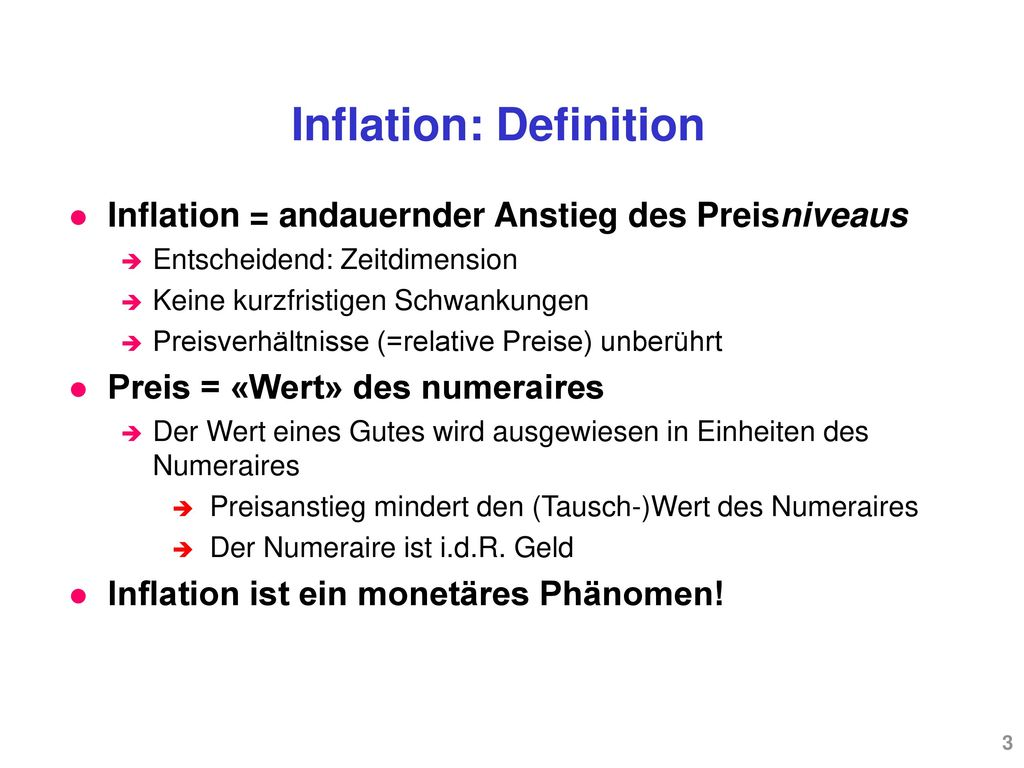 Inflation: Definition
