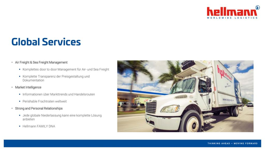 Global Services Air Freight & Sea Freight Management