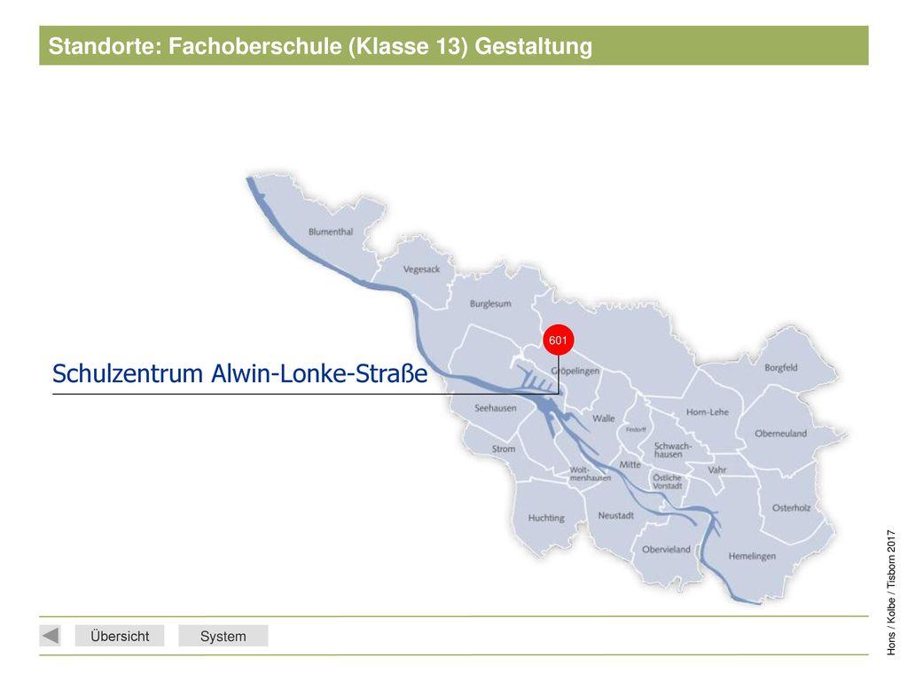 Standorte: Fachoberschule (Klasse 13) Gestaltung