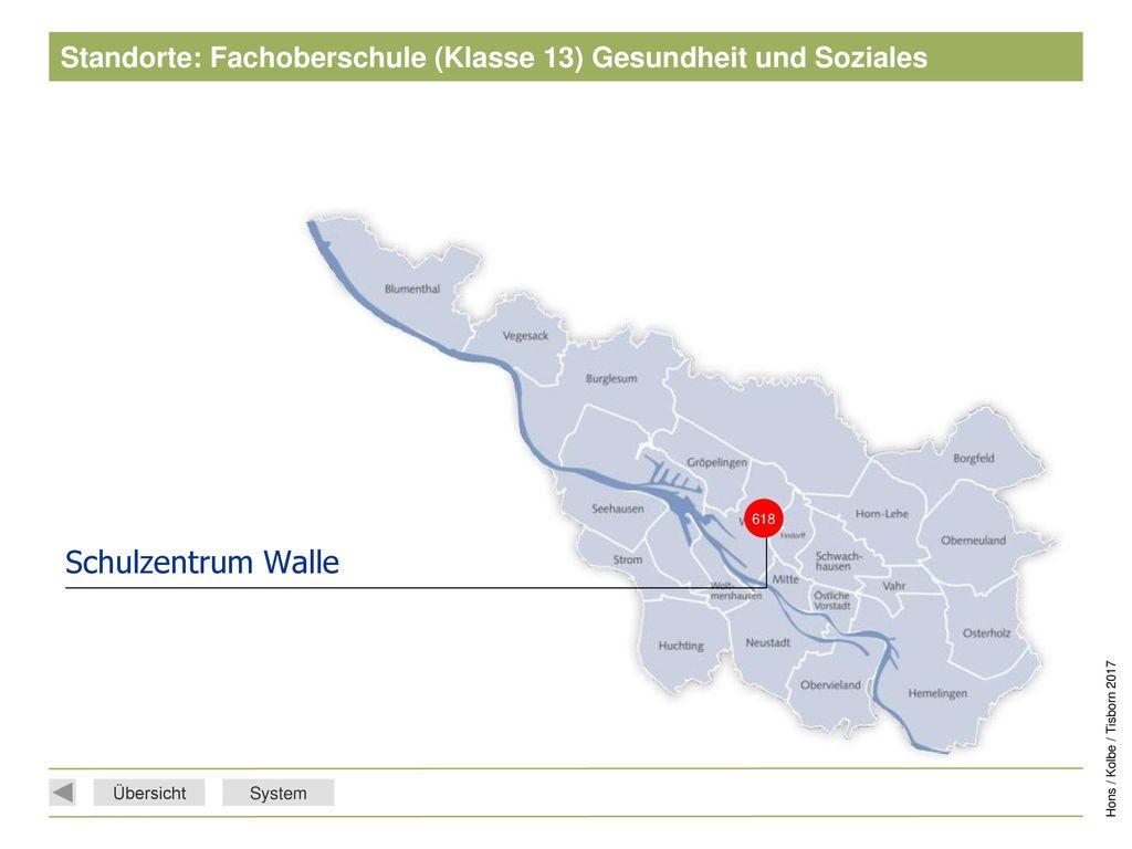 Standorte: Fachoberschule (Klasse 13) Gesundheit und Soziales