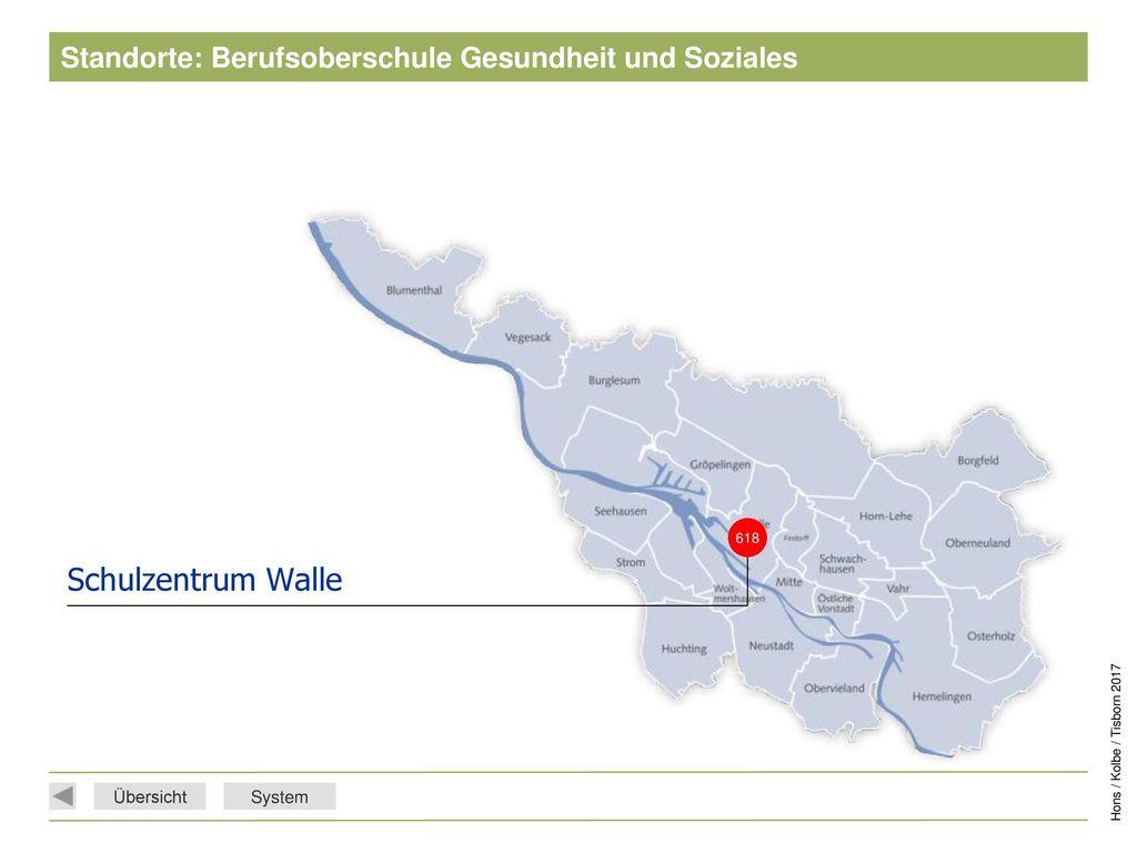 Standorte: Berufsoberschule Gesundheit und Soziales