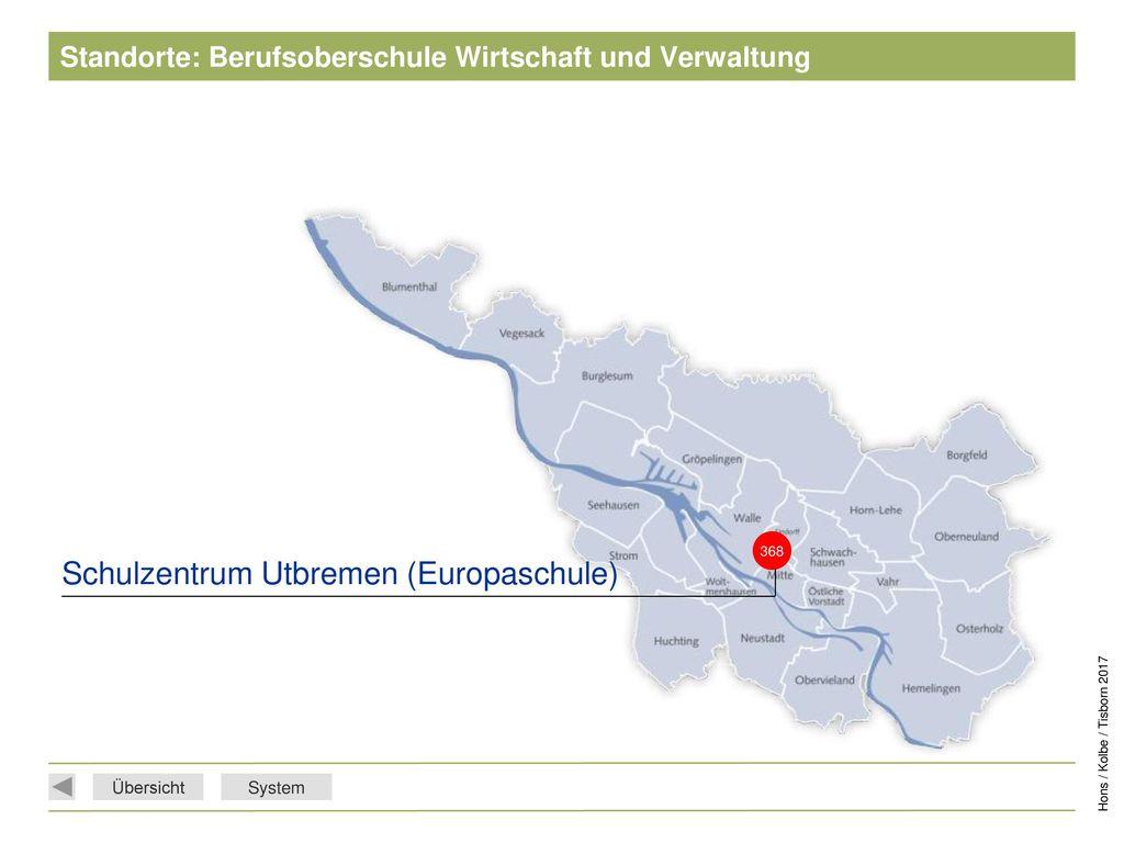 Standorte: Berufsoberschule Wirtschaft und Verwaltung