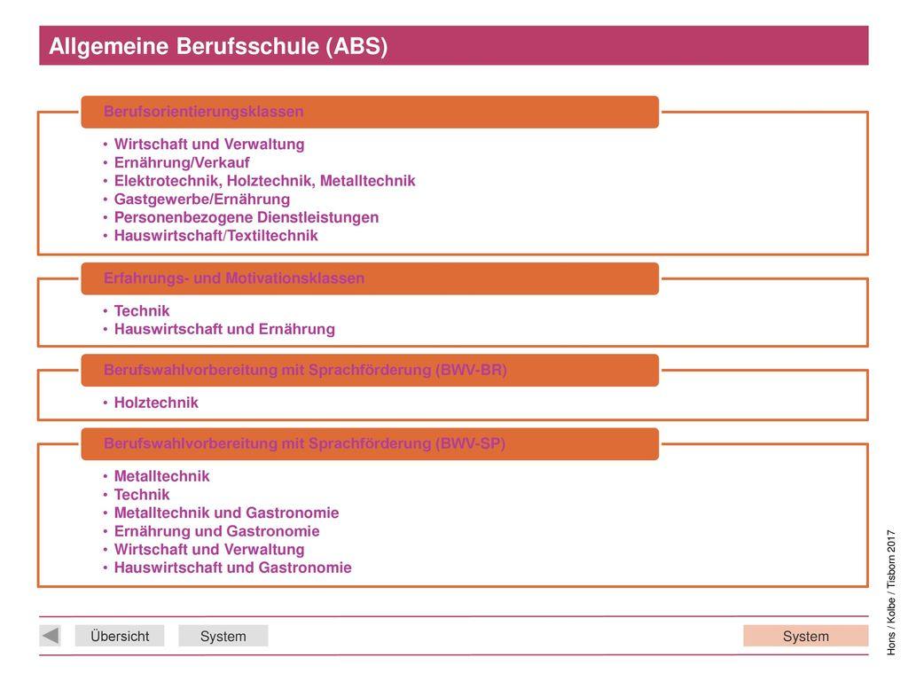 Allgemeine Berufsschule (ABS)