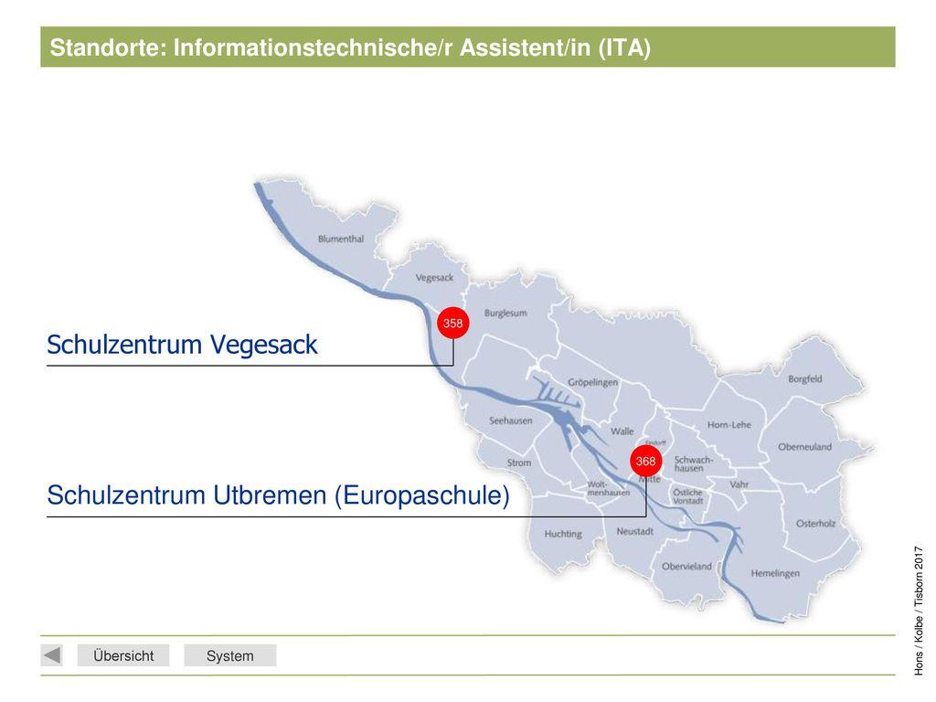 Standorte: Informationstechnische/r Assistent/in (ITA)