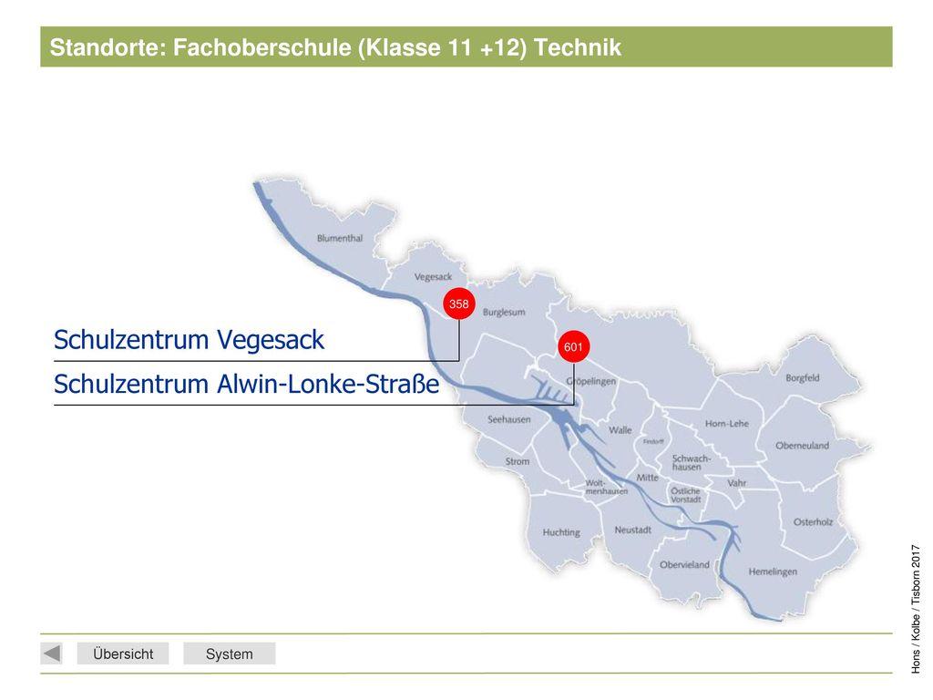Standorte: Fachoberschule (Klasse 11 +12) Technik