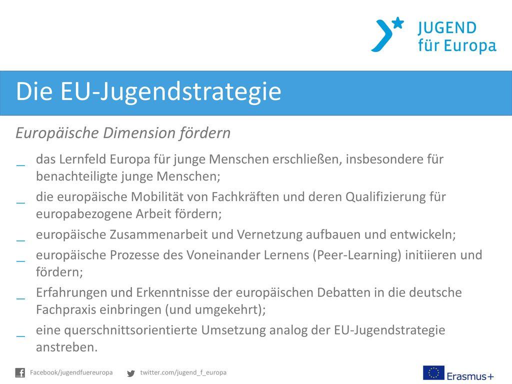 Die EU-Jugendstrategie