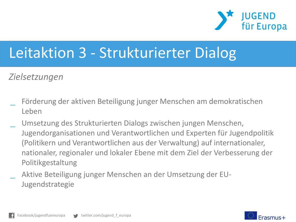 Leitaktion 3 - Strukturierter Dialog