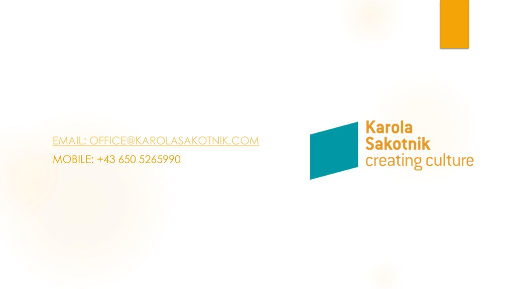 Email: office@karolasakotnik.com Mobile: +43 650 5265990