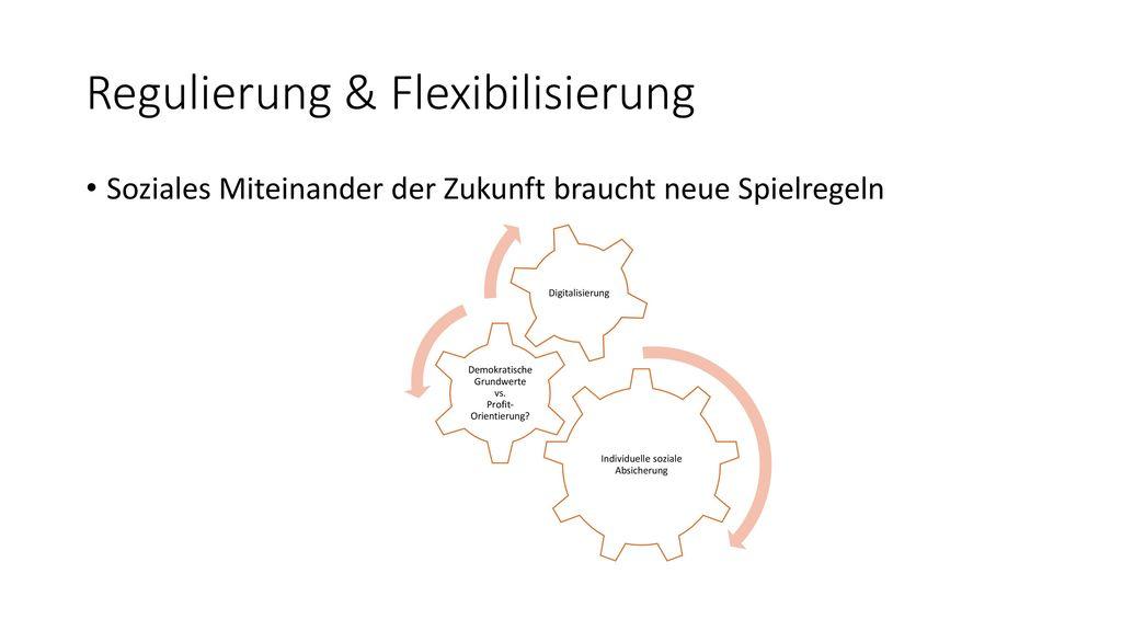 Regulierung & Flexibilisierung