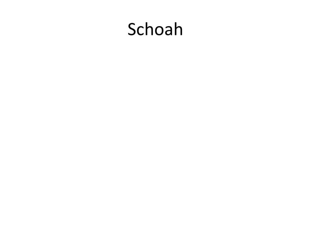 Schoah