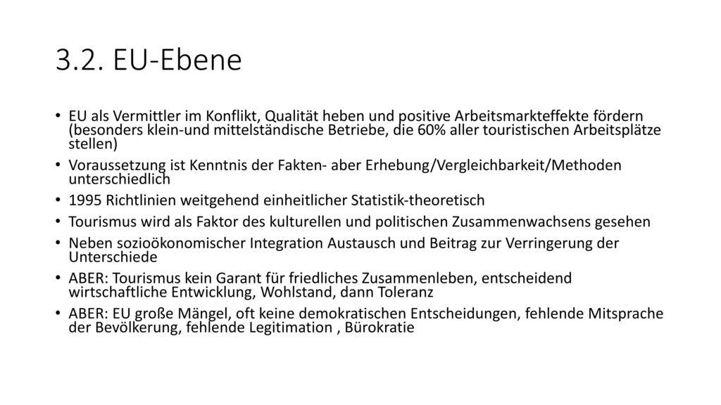 3.2. EU-Ebene