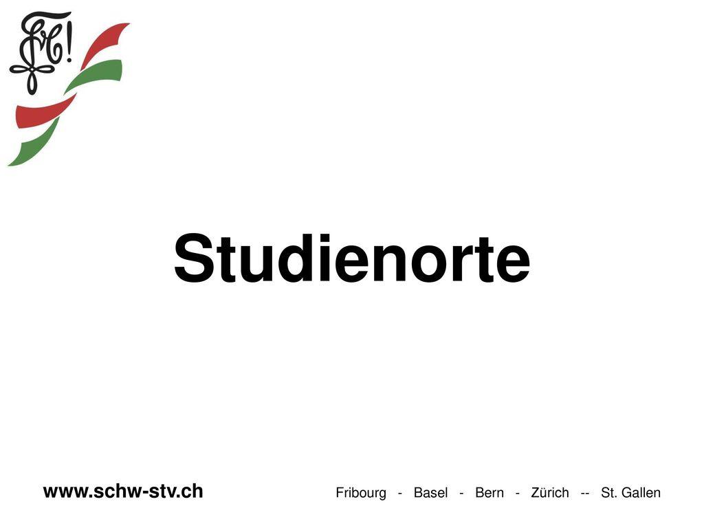 Studienorte www.schw-stv.ch