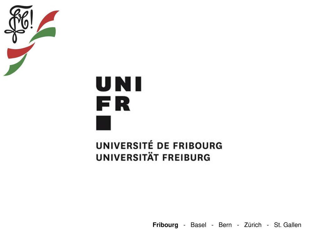 Fribourg - Basel - Bern - Zürich - St. Gallen