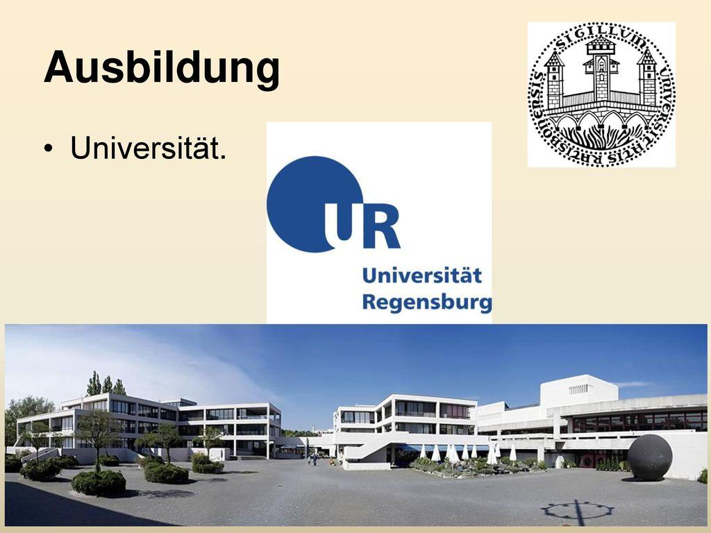 Ausbildung Universität.