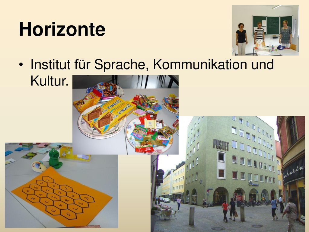 Horizonte Institut für Sprache, Kommunikation und Kultur.