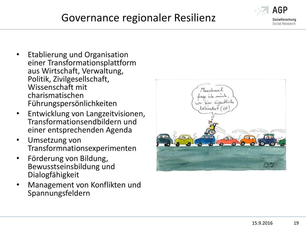 Governance regionaler Resilienz