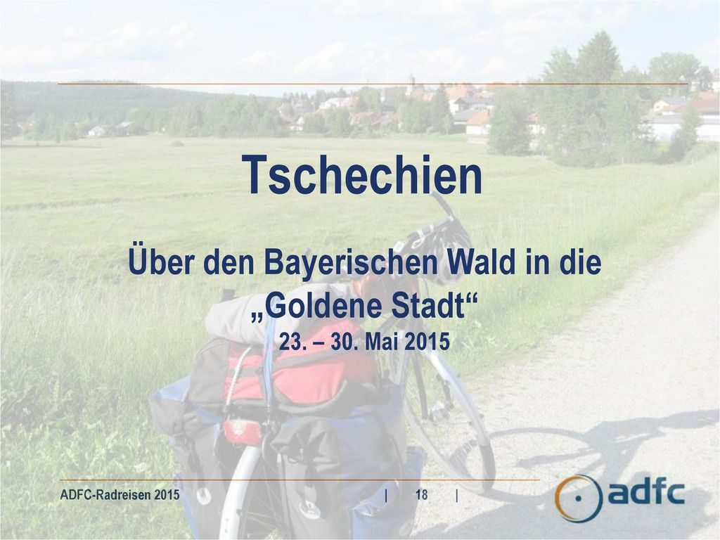 """Über den Bayerischen Wald in die """"Goldene Stadt"""