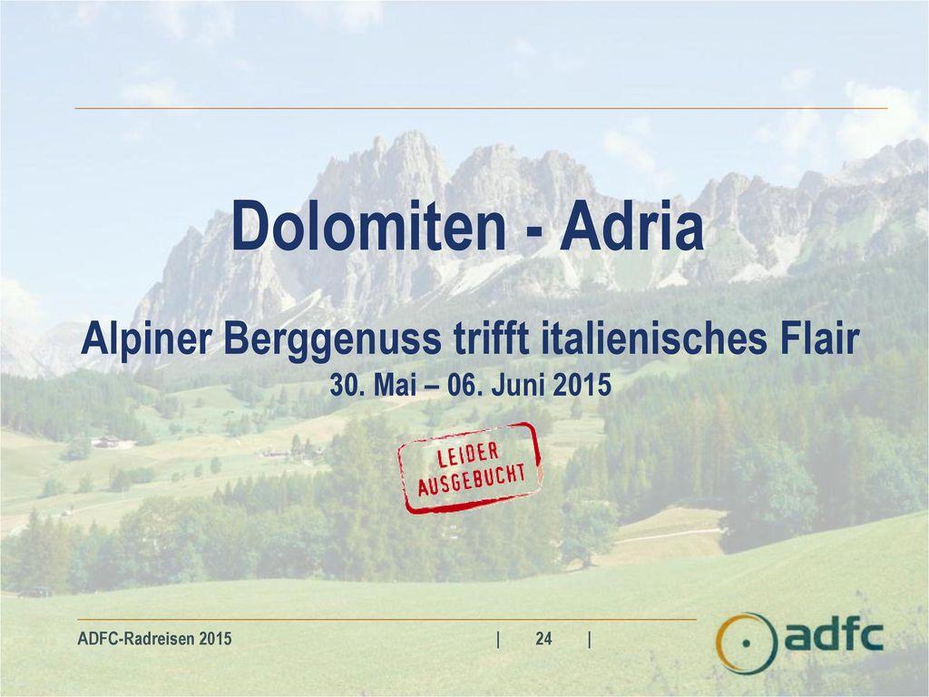 Alpiner Berggenuss trifft italienisches Flair