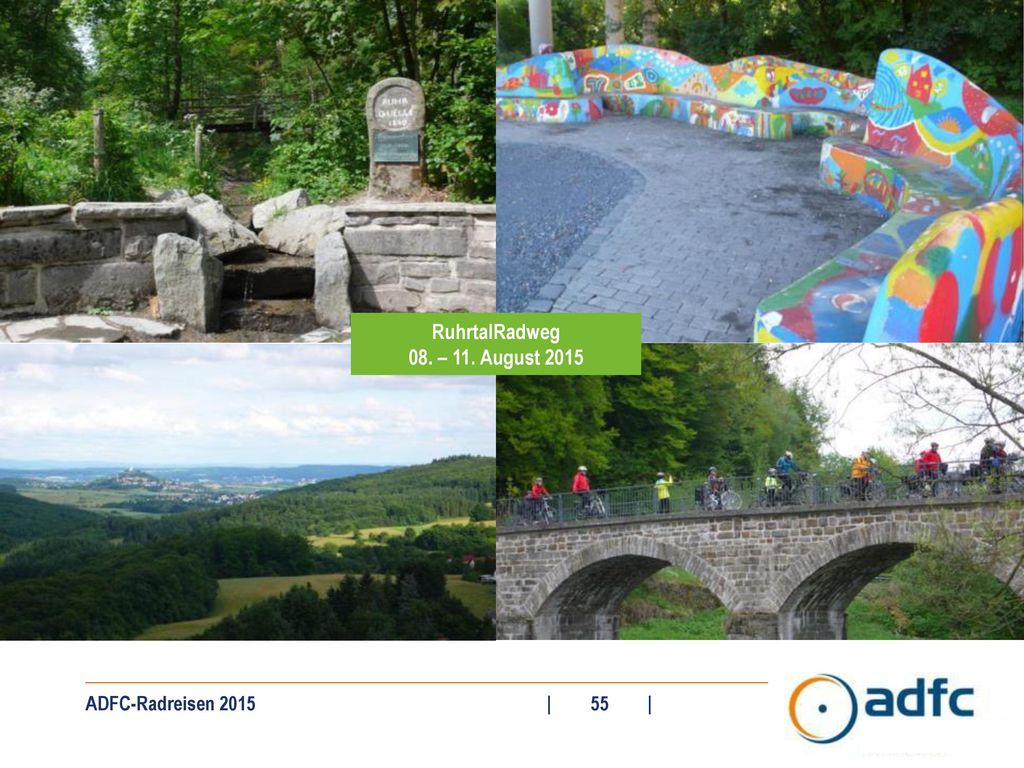 RuhrtalRadweg 08. – 11. August 2015