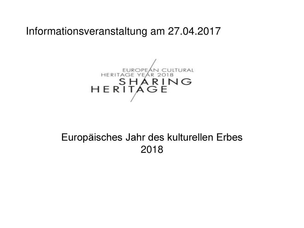 Informationsveranstaltung am 27.04.2017