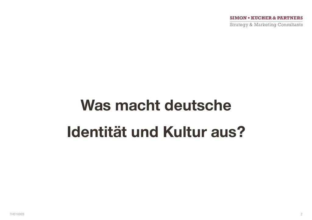 Was macht deutsche Identität und Kultur aus