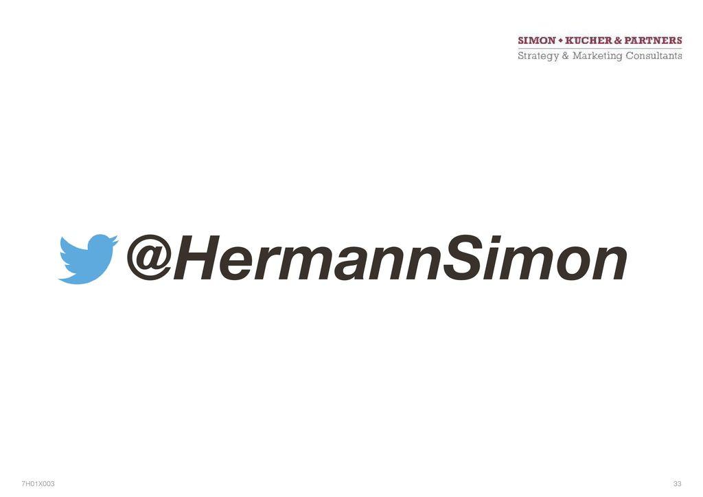 @HermannSimon 76 7H01X003